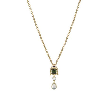 Waddesdon olivine necklace The British Museum