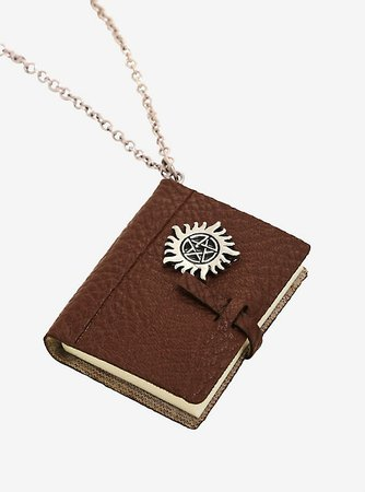 Supernatural Book Of Monsters Necklace