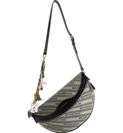 Balenciaga Extra Small Souvenir Logo Belt Bag   Nordstrom