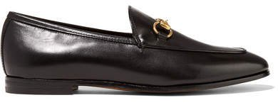 Jordaan Horsebit-detailed Leather Loafers - Black