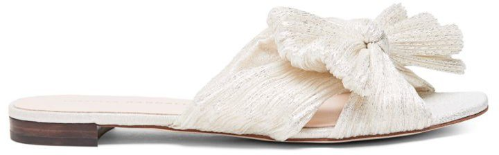 Daphne Flat Metallic Sandals