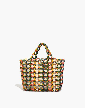 The Small Transport Tote: Beaded Edition