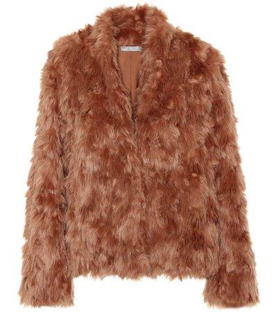 Faux Fur Jacket - Vince | mytheresa