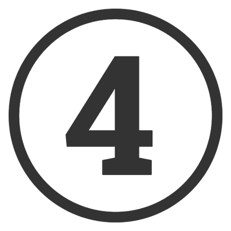 "Number ""4"""