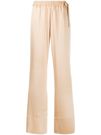 Acne Studios Satin straight-leg Trousers - Farfetch