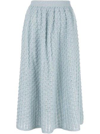 Jil Sander Knitted Midi Skirt - Купить В Интернет Магазине В Москве | Цены, Фото.