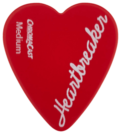 heartbreaker guitar pick