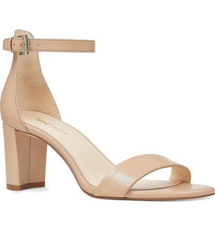 Nine West Pruce Ankle Strap Sandal (Women)   Nordstrom