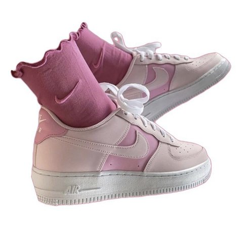 Nike Pink Air Force 1s