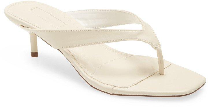Nina Mini Heel Mule Sandal