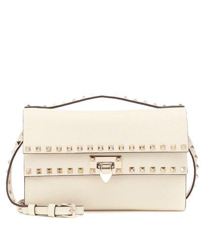 Valentino Garavani Rockstud Small Leather Shoulder Bag | Valentino - Mytheresa