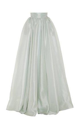 Classic Satin Ball Skirt by Brandon Maxwell   Moda Operandi