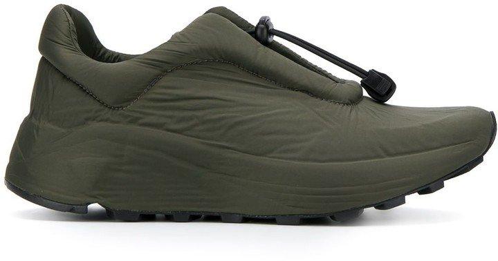 Del Carlo Drawstring Low-Top Sneakers