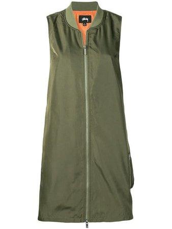 Stussy long vest