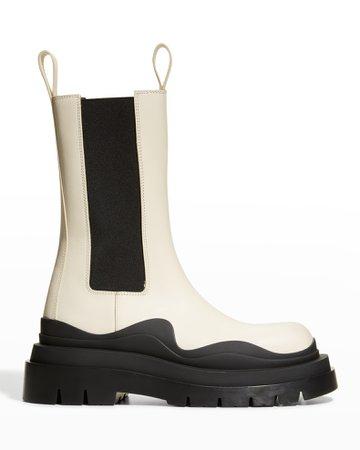 Bottega Veneta The Tire Boots | Neiman Marcus