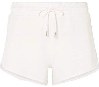 Organic Cotton-jersey Shorts - White