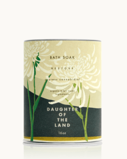 Cypress CBD Bath Soak – Daughter of the Land