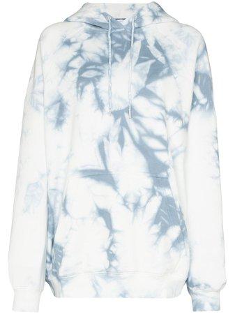 Ninety Percent Oversized Tie-dye Hoodie | Farfetch.com