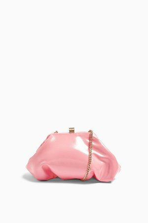Pink Patent Mini Clutch Bag | Topshop
