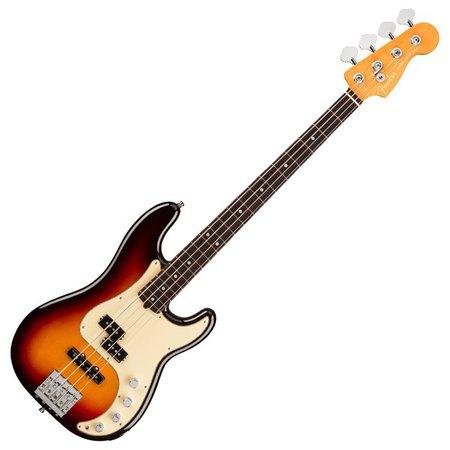 Fender American Ultra Precision Bass RW, Ultraburst | Gear4music