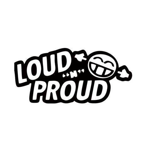 Hot Sale Cool Graphics Personality Car Decals Loud N Proud Waterproof Decals Sticker Jdm stickers jdm decal stickercar decal - AliExpress
