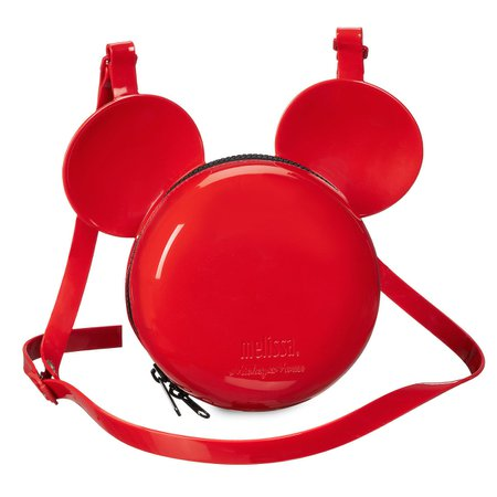 Mickey Mouse Crossbody Bag by Melissa - Red | shopDisney