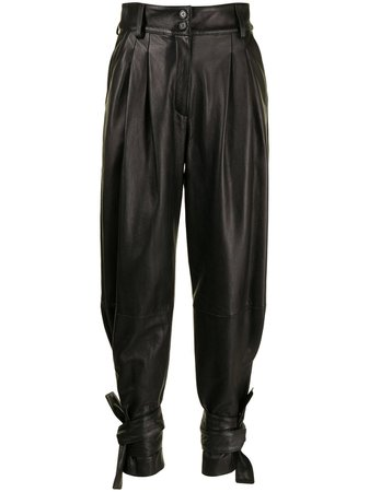 Dolce & Gabbana high-waisted Tapered Trousers - Farfetch