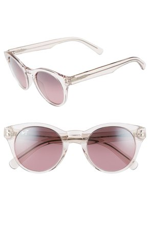 Maui Jim Dragonfly 49mm PolarizedPlus2® Cat Eye Sunglasses | Nordstrom