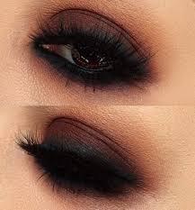 brown grunge eye makeup - Google Search