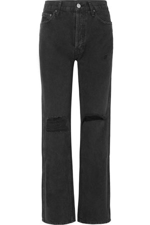 RE/DONE | Distressed high-rise jeans | NET-A-PORTER.COM