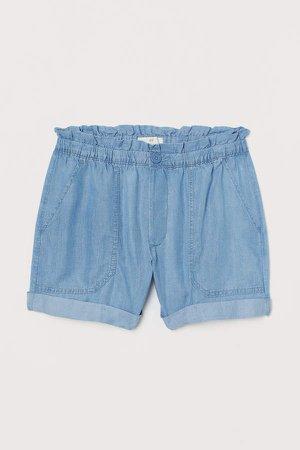 Twill Shorts - Blue