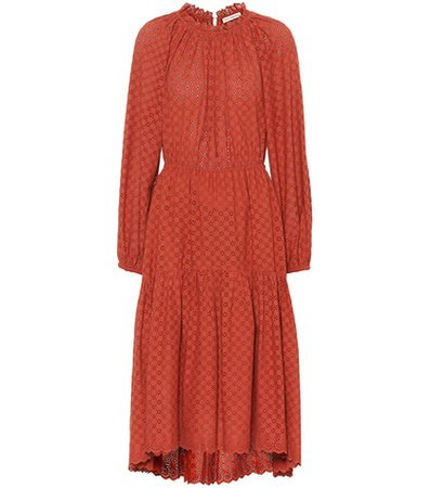 Ambre cotton eyelet lace dress