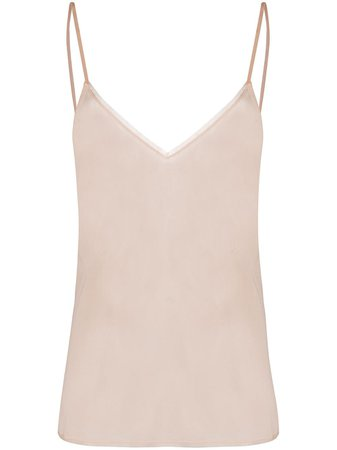 ShopPrada sheer silk camisole with Express Delivery - Farfetch