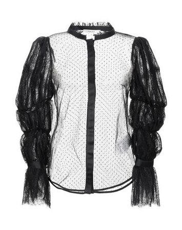 Lucille Lace Shirts & Blouses - Women Lucille Lace Shirts & Blouses online on YOOX United States - 38829454QQ
