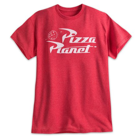 Pizza Planet Logo Tee for Men - Toy Story   shopDisney