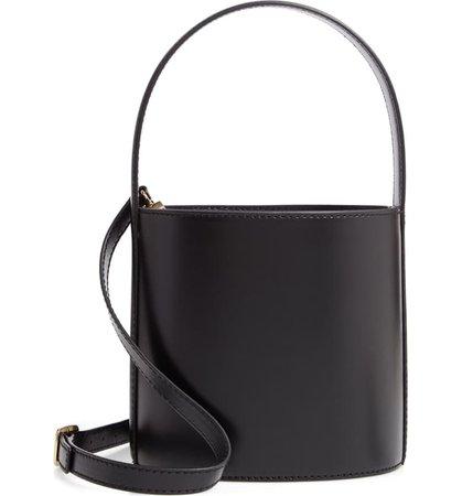 STAUD Bissett Leather Bucket Bag | Nordstrom