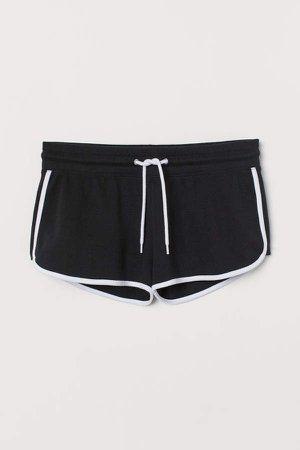 Short Sweatshorts - Black