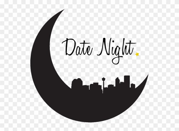 Date Night Png - Date Night Calligraphy, Transparent Png - 613x607(#4392598) - PngFind