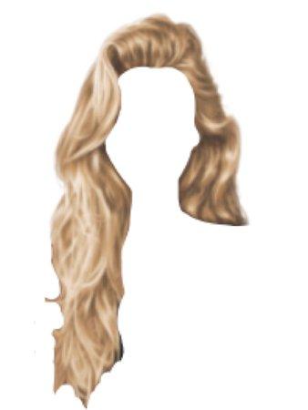 cheveaux blonds