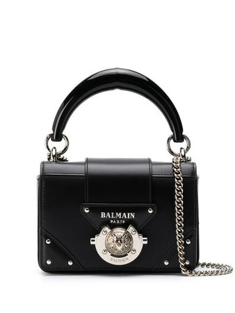 Balmain Mini Box Crossbody Bag - Farfetch