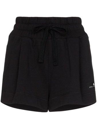 ($75) ADIDAS X STELLA MCCARTNEY logo-print running shorts