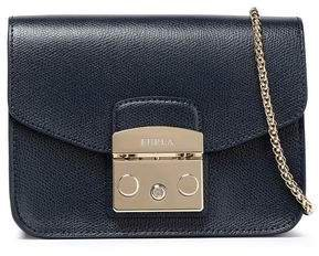 Metropolis Mini Textured-leather Shoulder Bag