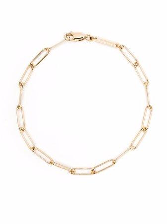 Tom Wood 9kt Yellow Gold Box Bracelet - Farfetch