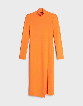 Midi dress - New - Bershka United States