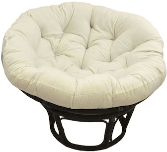 Ivory Papasan Chair