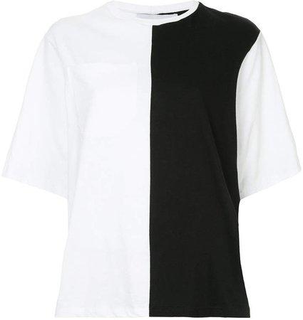 Nino Babukhadia bicolour pocket T-shirt