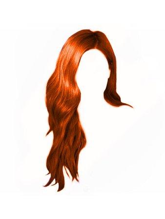 Orange / Ginger Hair PNG