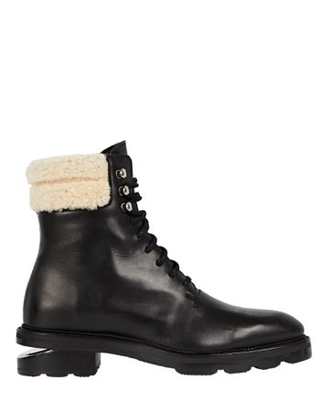 Alexander Wang Andy Hiker Leather Ankle Boots | INTERMIX®