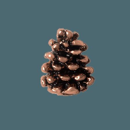 Origami Owl Custom Jewelry   Pine Cone Charm