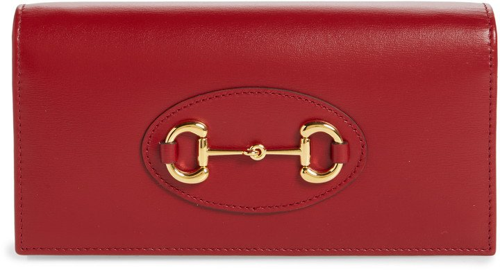 1955 Horsebit Leather Wallet on a Chain